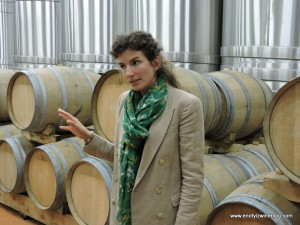 Alice Paillard lead us on a tour of the facilities, cellar and an amazing tasting!