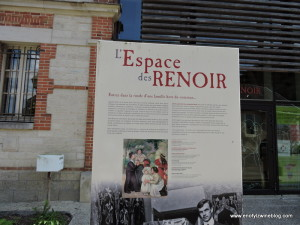 A museum that has many of Renoir pieces close to his home in the Cotes des Bar