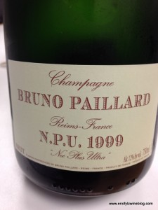 This 1990 Bruno Paillard N.P.U. Nec Plus Ultra was simply mind blowing - one of the most memorable of the trip