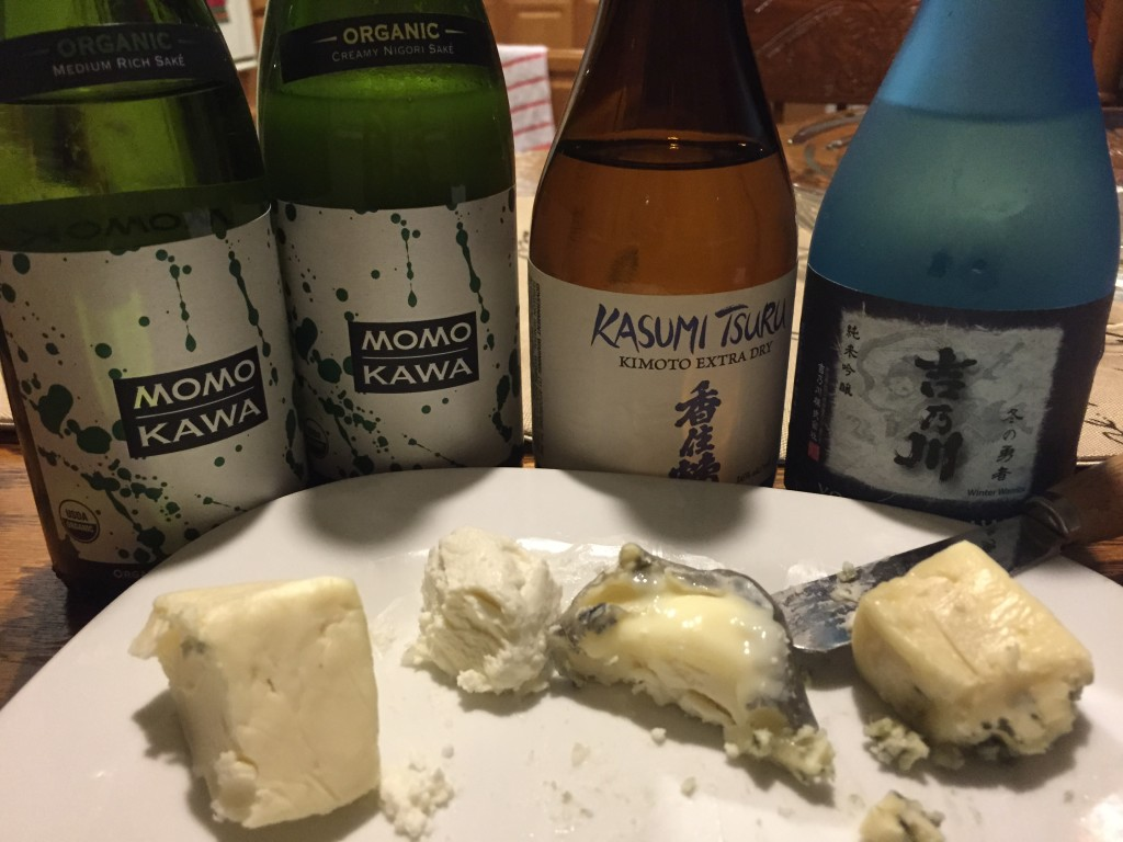 Saké-and-Cheese Pairings - A Revelation