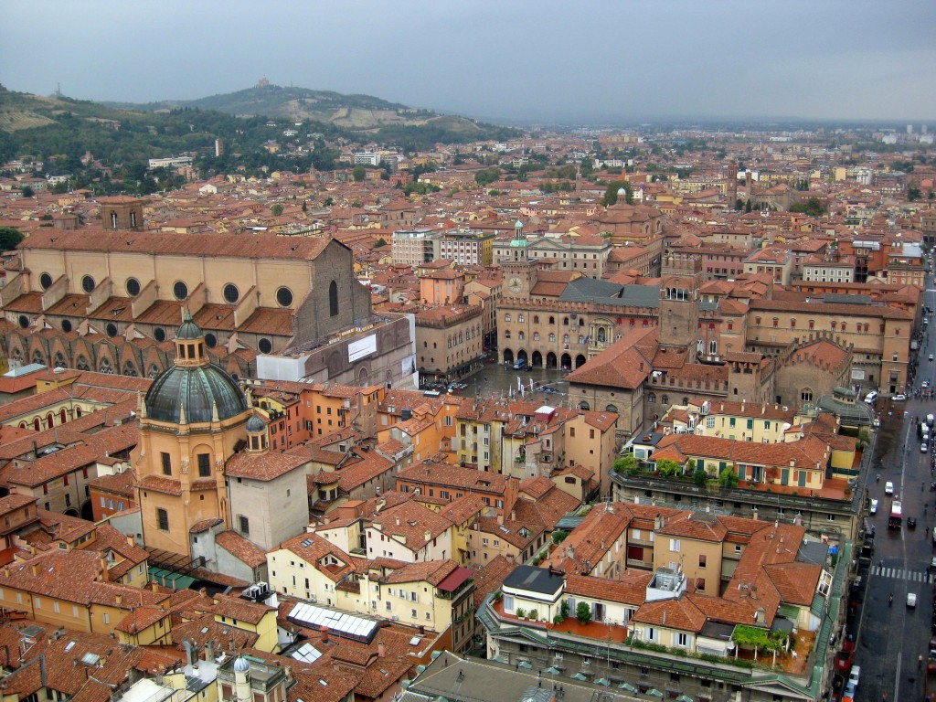 Bologna - the capital of Emilia-Romagna. Image courtesy of blog.eataly.com