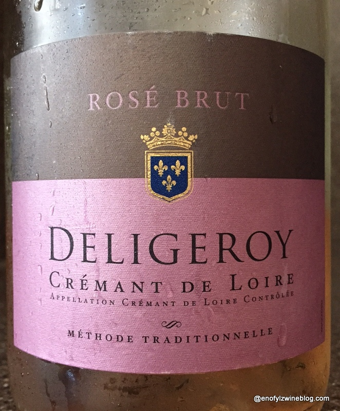 Tale Of A Crémant de Loire Brut Rose At The Table #Winophiles