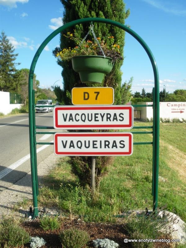 Panneau_Vacqueyras