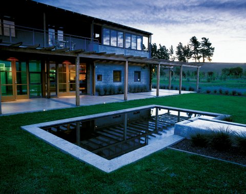 The Villa Maria winery in Marlborough. Image courtesy of Villa Maria Wine