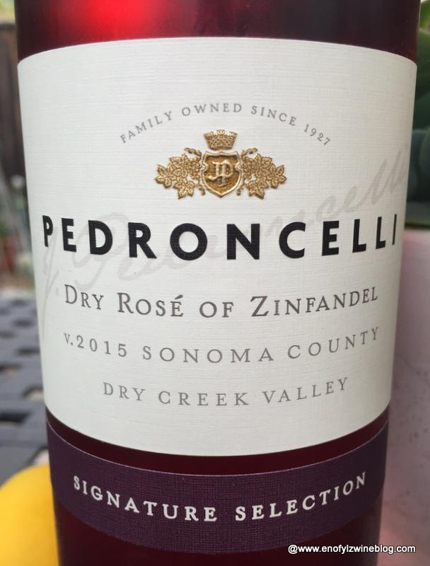 2015 Pedroncelli Dry Rosé of Zinfandel