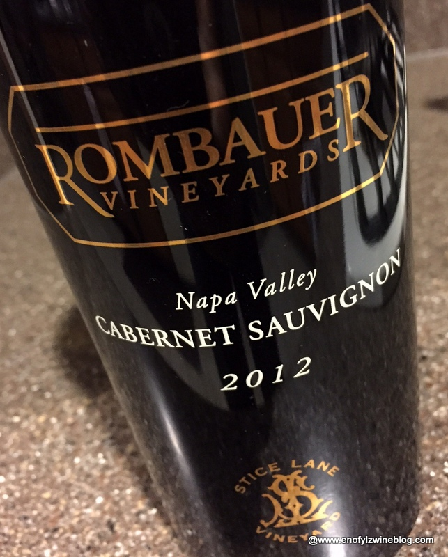 2012 Rombauer Vineyards Cabernet Sauvignon Stice Lane Vineyard