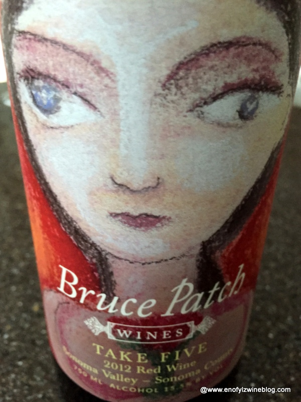 """2012 Bruce Patch Wine """"Take Five"""" Red Blend"""