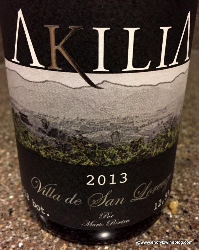 """2013 Akilia """"Villa de San Lorenzo"""" Mencía Bierzo"""