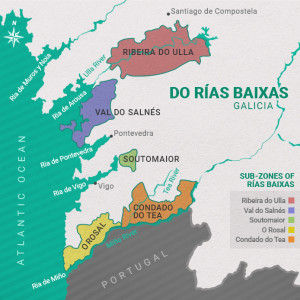 Image courtesy of  Rias Baixas Wines